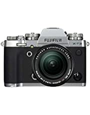 Fujifilm X-T3 Mirrorless Digital Camera with XF 18-55 mm F2.8-4 R LM OIS Lens kit with 16 Memory Card and Case (Silver)