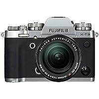 Fujifilm Appareil photo compact hybride X-T3 avec Objectif XF18-55 mm 26,1 Mpix Zoom optique Argent/Noir