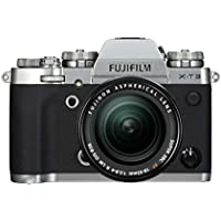 Fujifilm X-T3 - Cámara de objetivo intercambiable sin espejo, con sensor APS-C de 26,1 Mpx, video 4K/60p DCI, pantalla táctil, WIFI, Bluetooth, plata, Kit con objetivo XF18-55mm F2.8-4 R LM OIS