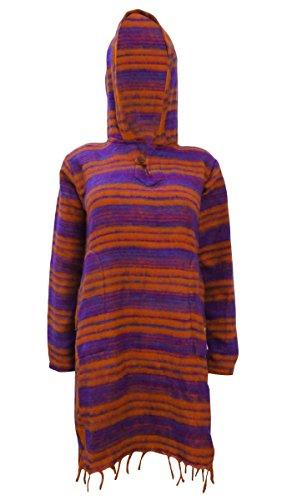 Cape Poncho Vêtements Wool Blend Sweater Horloge Manteau Hiver Wear Veste Rouge