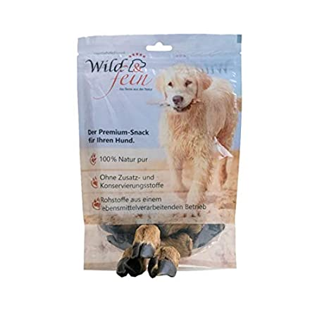 Wild & Fein Hundesnack Rehhuf