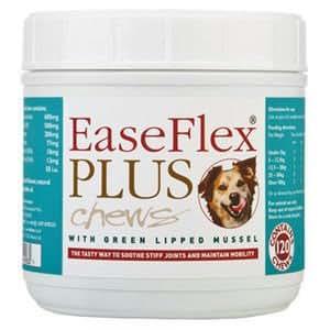 EaseFlex Plus - Complément Alimentaire - Chien 120 Comprimés à mâcher