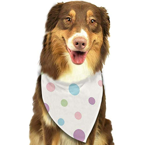 Wfispiy Chesapeake Fashion Pet Bandanas Dog Car Neck Scarf for Unisex Pet Boy ()