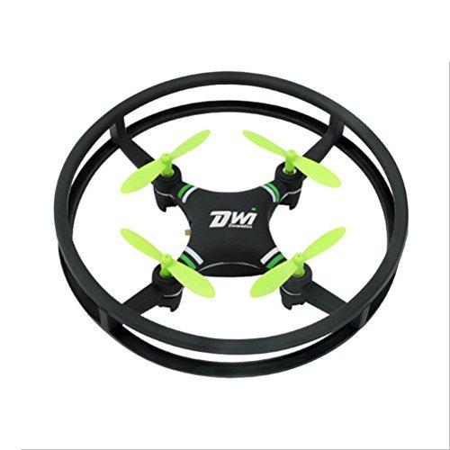 J - negozio drone, giocattolo drone aereo telecomandato aereo, mini super resistente nano ufo drone space trek 2.4ghz 4 assi 4ch rc quadcopter (verde)