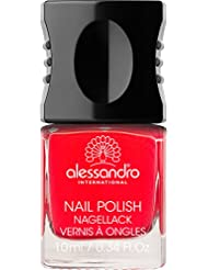 alessandro Standard Lack 30 First Kiss Red, 1er Pack (1 x 10 ml)