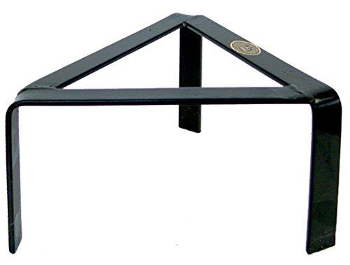 IMEX - Table basse triangulaire en fer forgé 40 cm
