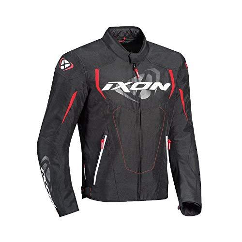 Ixon Cobra Nero Rosso Giubbotto Moto
