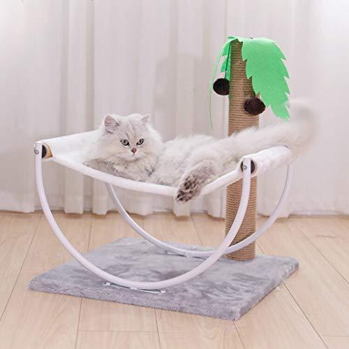 Pet nido piccolo gatto arrampicata telaio semplice amaca di legno cat tree cat jumping gatto lettiera una mensola gatto gatto graffio giocattolo gatto -48 * 48 * 57 cm