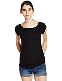 GAP Women's Solid T-Shirt