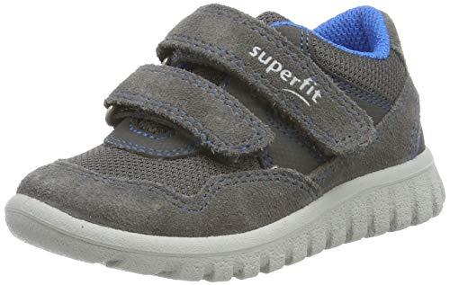 Superfit Baby Jungen SPORT7 Mini' Sneaker, Grau (Grau/Blau 20), 25 EU