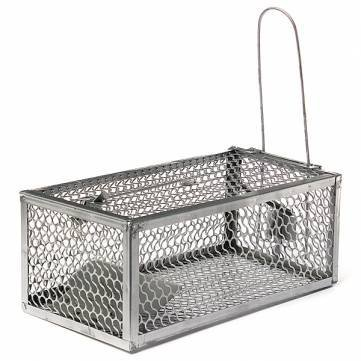 WARKHOME 1 Door Rodent Cage Trap - Live Animal Cage Trap Get Rid of Mouse, Mice,Rat, Squirrel, Rat, and Weasel Pest Control - 280X150X115MM