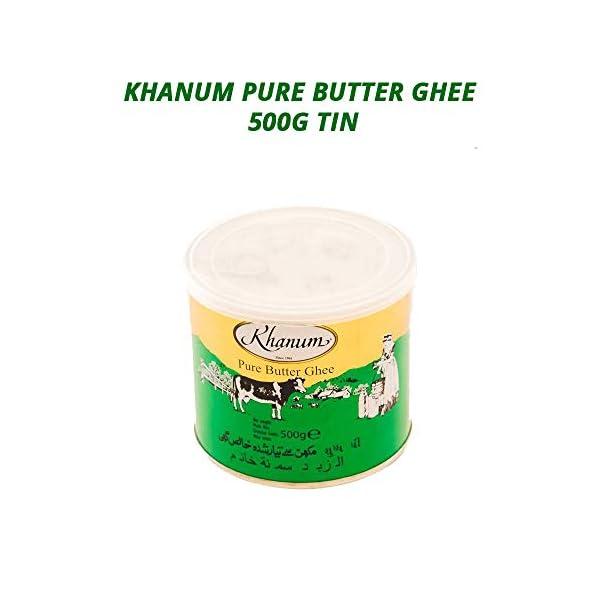 Khanum Butter Ghee | Clarified Butter | Secret Ingredient for Indian Cooking | Ideal for Sautéing, Braising, Pan-Frying… 1