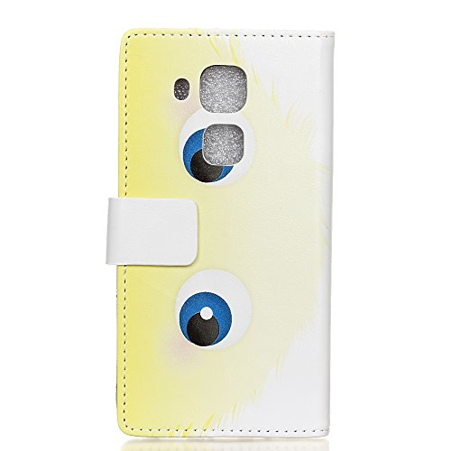 Voguecase® für Apple iPhone 7 4.7 hülle,(Gelb Leopard) Kunstleder Tasche PU Schutzhülle Tasche Leder Brieftasche Hülle Case Cover + Gratis Universal Eingabestift Blau Monster