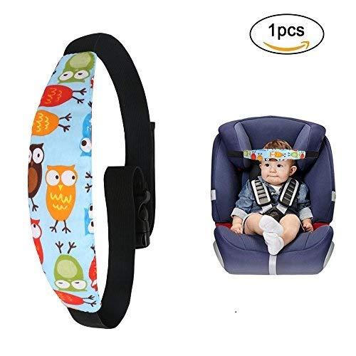 URAQT Cinturino Supporto Testa Bambini, Bambino Cinturino Auto Sicurezza, Dormire Cintura di Sicurezza per Seggiolino Auto per Bambino e Neonato
