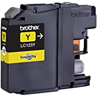 Brother LC-123Y Ink Cartridge - Yellow LC-123Y