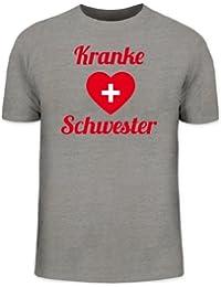 Shirtstreet24, Fasching - Kranke Schwester, Kostüm Karneval Herren T-Shirt Fun Shirt Funshirt