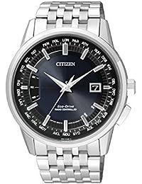 Citizen Herren-Armbanduhr RADIO CONTROLLED Analog Quarz Edelstahl CB0150-62L