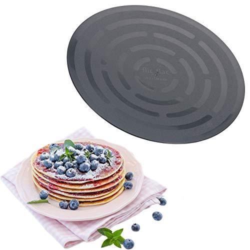 Westmark Pfannenkuchen-/Omelettwender, Kunststoff, Rund, Durchmesser: 26 cm, Flic-Flac, Schwarz, 15262270