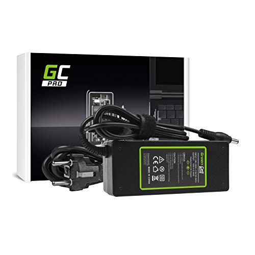 Green Cell® PRO Serie Netzteil für Toshiba Satellite P200D-1FI P200D-1FW P200D-AK0 P200D-AK3 P200D-SB3 P205 P205-S6237 P205-S6247 Laptop Ladegerät inkl. Stromkabel (19V 3.95A 75W) -