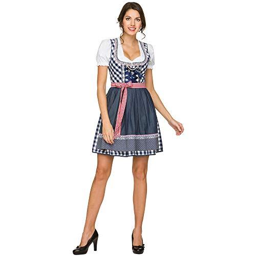 LVLUOYE Rollenspielbühne Kostüm, deutsche Oktoberfest-Uniform, Bayerisches Nationalkostüm, Maid Kostüm,XXL