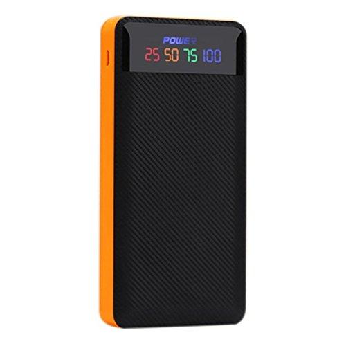 samlike 5V 2A LED dual usb Energía Banco caso Cargador DIY caja...