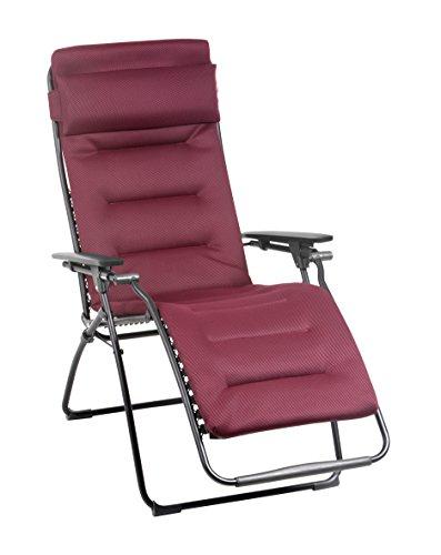 Lafuma Relax-Liegestuhl, Klappbar, Stufenlose Verstellung, Stahlkonstruktion, Air Comfort, Futura,...