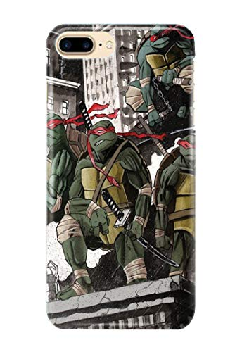 Case Me Up Handy Hülle für iPhone 7+ [Plus] Ninja Turtles TMNT Leonardo Donatello Michelangelo Raphael 9 ()