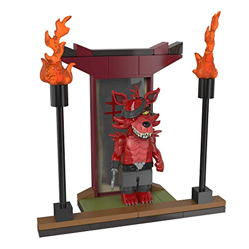 Five Nights at Freddys McFarlane Toys Temple of The Fox Micro Construction Set Foxy