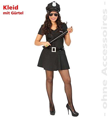 FASCHING 10070 Kinder-Kostüm Police Girl, Kleid Polizistin NEU/OVP: Größe: 164