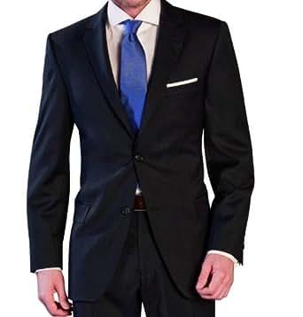 Herren Anzug dunkelblau Lanificio Tessile D`Oro(44-64, 23-32, 88-122) (40, blau)