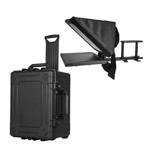 For Sale Ikan PT3500-TK Teleprompter & Hard Case Travel Kit, Black on Amazon