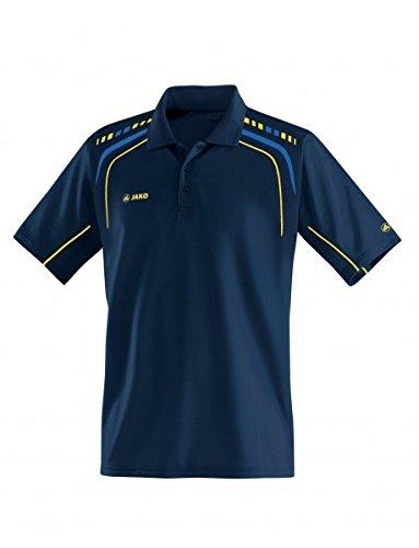 Jako Champion Polo pour femme marine/royal/jaune