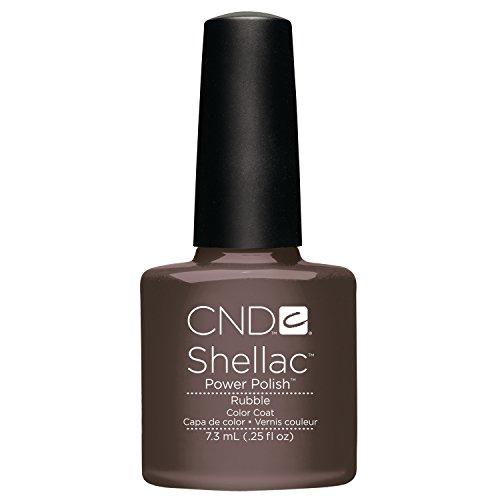 CND Shellac Rubble, 1er Pack (1 x 7 ml) Nail Schellack Politur