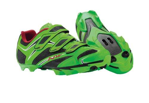 Northwave Scorpius 3S MTB Fahrrad Schuhe grün 2014: Größe: 42