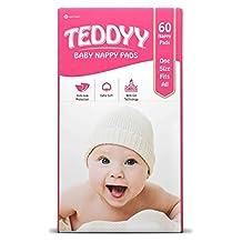 Teddyy Nappy Pads, 60-Piece