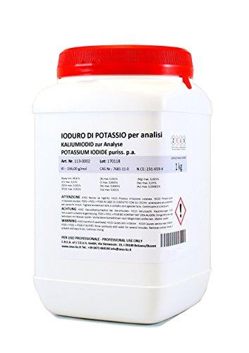 Kaliumiodid zur Analyse - ZEUS - 1 kg