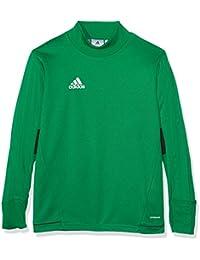 adidas Tiro17 Trg Topy Camiseta, Niños, Verde (Verde / Negro / Blanco), 116