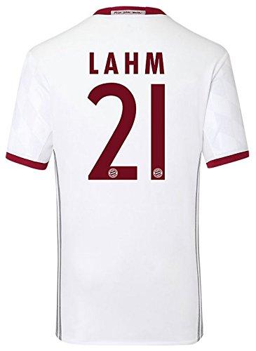 Trikot Adidas FC Bayern München 2016-2017 Champions League (Lahm 21, L)