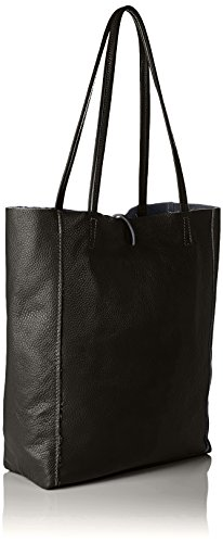 Bags4Less - Maria, Borse a spalla Donna Nero (Schwarz)