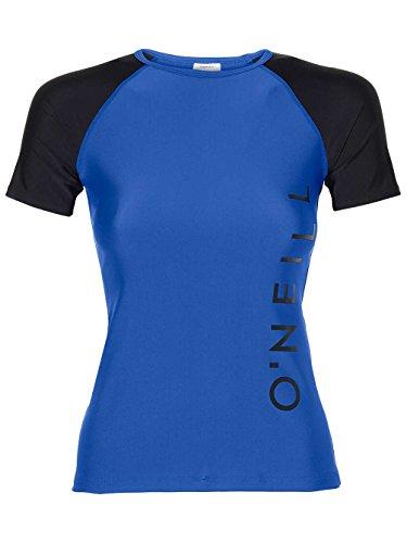 O'Neill Damen Sports Logo Skin Bademode mit Uv-Schutz Shirt, Neon Dark Blue, M