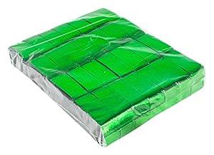 Ohfx Confetti rectangular Color verde metalizado (Rec/M-VE