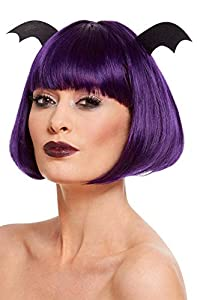 Smiffys 61117 - Peluca de Halloween para mujer, color morado