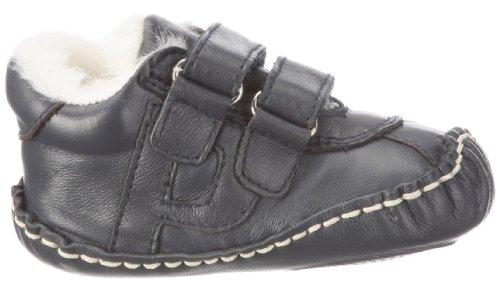 Playshoes Baby Leder-Schuh mit Winterfutter von Playshoes Art. 107730, Chaussures basses mixte enfant Bleu