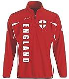 England Sport Pullover rot Sweater Trikot Look EM 2016 - (XXL)