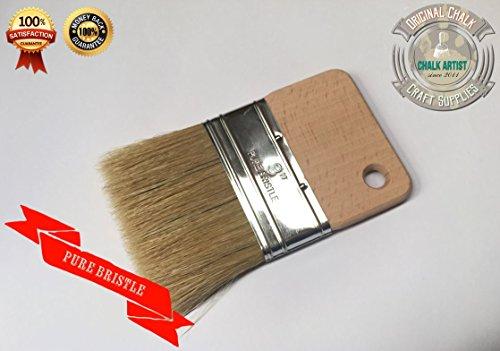# DB3Kreide Farbe Armen eingezogen Glasur Fleck Flacher handliche 7,6cm 76mm Poly Pinsel, Werkzeug (Kreide Farbe Fleck)