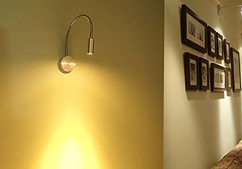 Lampe Flexible - AUA Spots muraux LED Lampe en aluminium