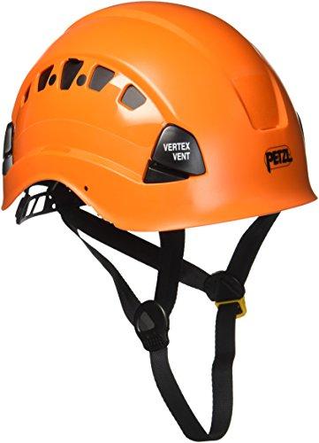Petzl Helm Vertex Vent - Casco de ciclismo multiuso, color Naranja, talla 53-63cm