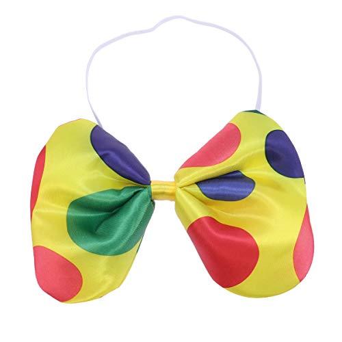 Kind Polka Clown Kostüm Dot - TOYANDONA Clown Polka Dot Fliege Kostüm Party Favors