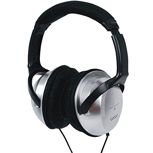 TronicXL Fernsehkopfhörer Kopfbügel 6m langes Kabel TV Klinke Fernseh Kopfhörer kompatibel mit vielen Modellen von Sony LG Panasonic Grundig Samsung Philips Toshiba Hisense Medion Bügel Stereo