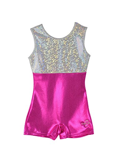 obersee-girls-o3gl006-biketard-gymnastics-leotard-rose-argent-x-petit